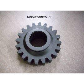 Koło zębate rotora