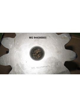 Wał zębaty przekładni obrotu Z-11 M10 L-342mm