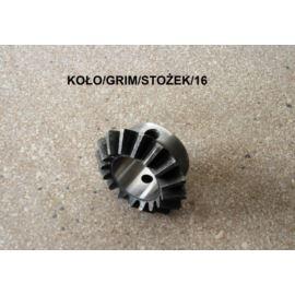 Koło stożkowe przekładni Z-16 fi 25 mm