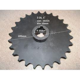 """Koło z tuleją Z-26 1"""" fi 35mm"""